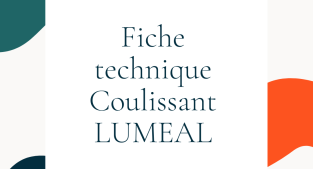 LUMEAL : le coulissant minimal