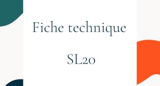 FICHE TECHNIQUE SL 20