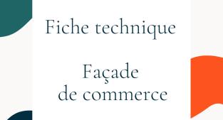 Fiche technique Façade de commerce Solarlux