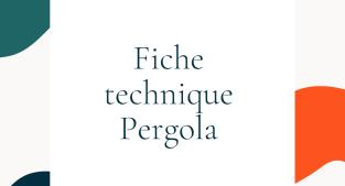 Fiche technique Pergola Solarlux