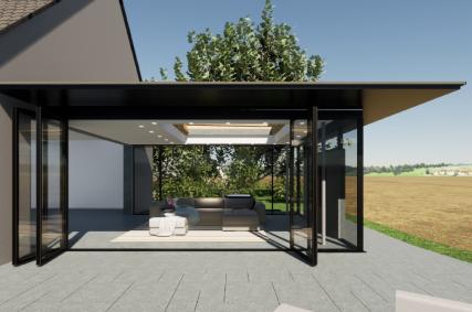 Avantages de l'extension de maison à toiture plate