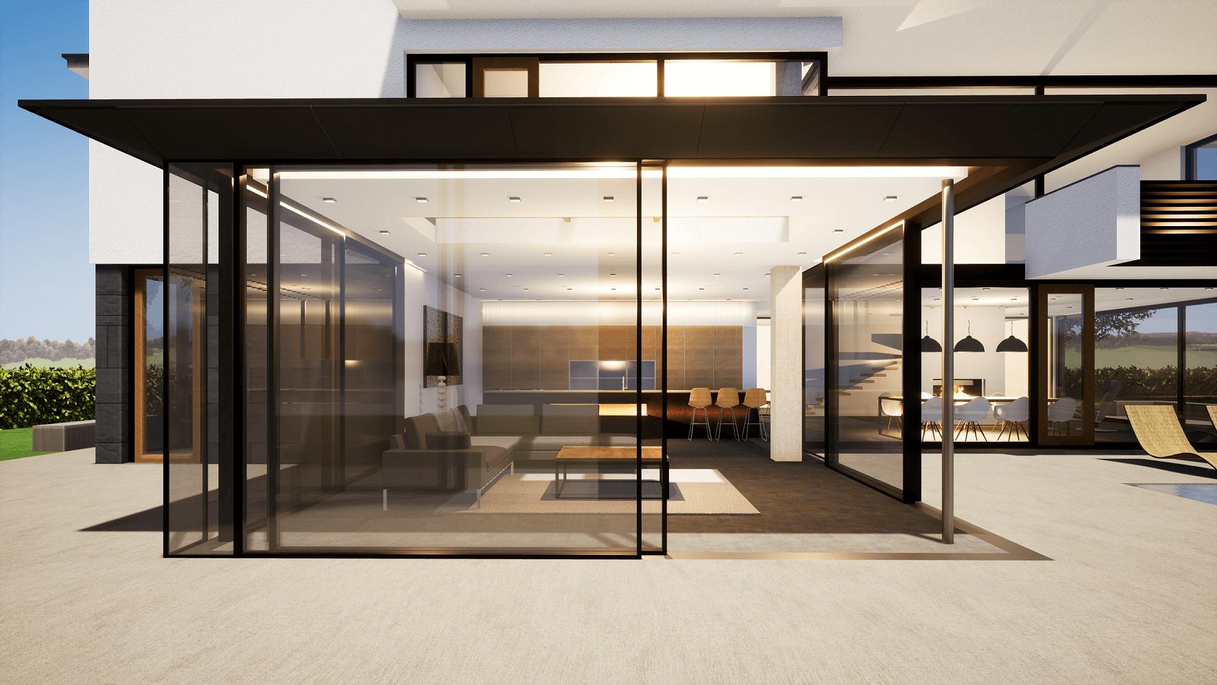 extension de maison avalis solarlux