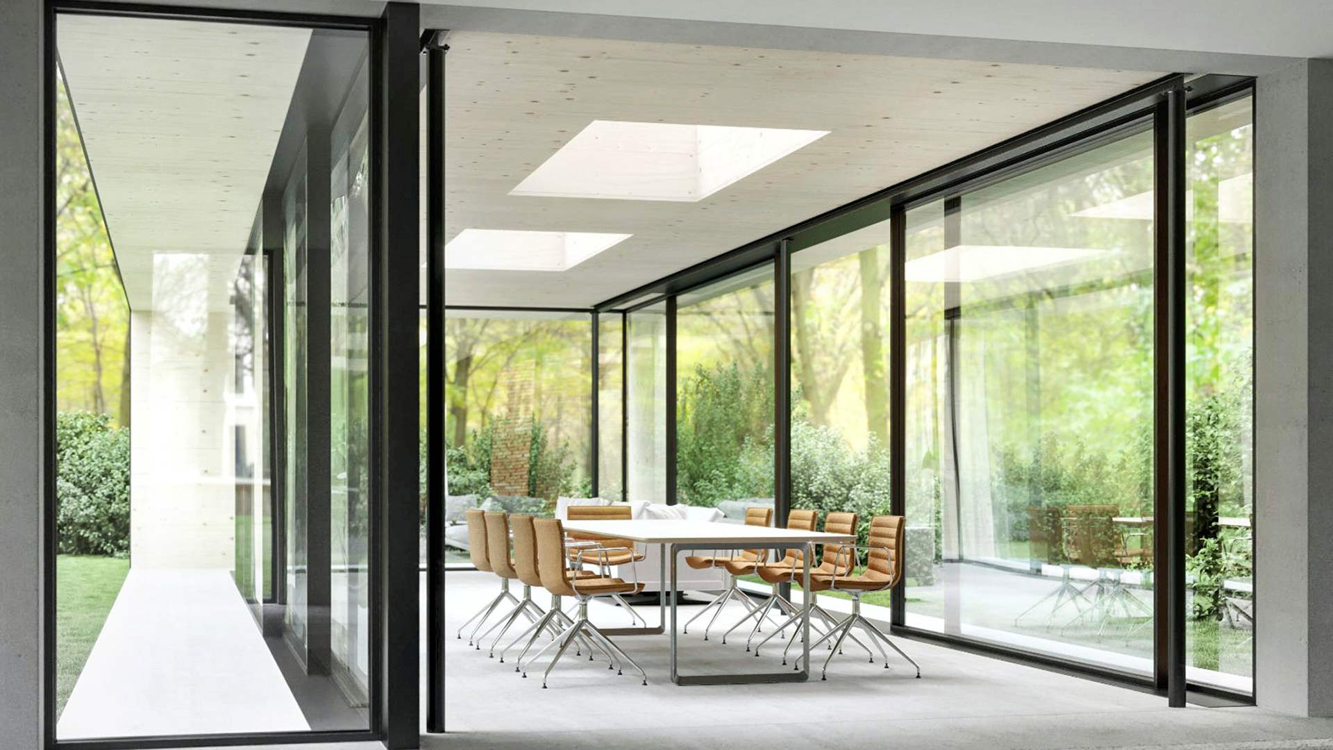 Une image contenant bâtiment, intérieur, vivant, fenêtre  Description générée automatiquement
