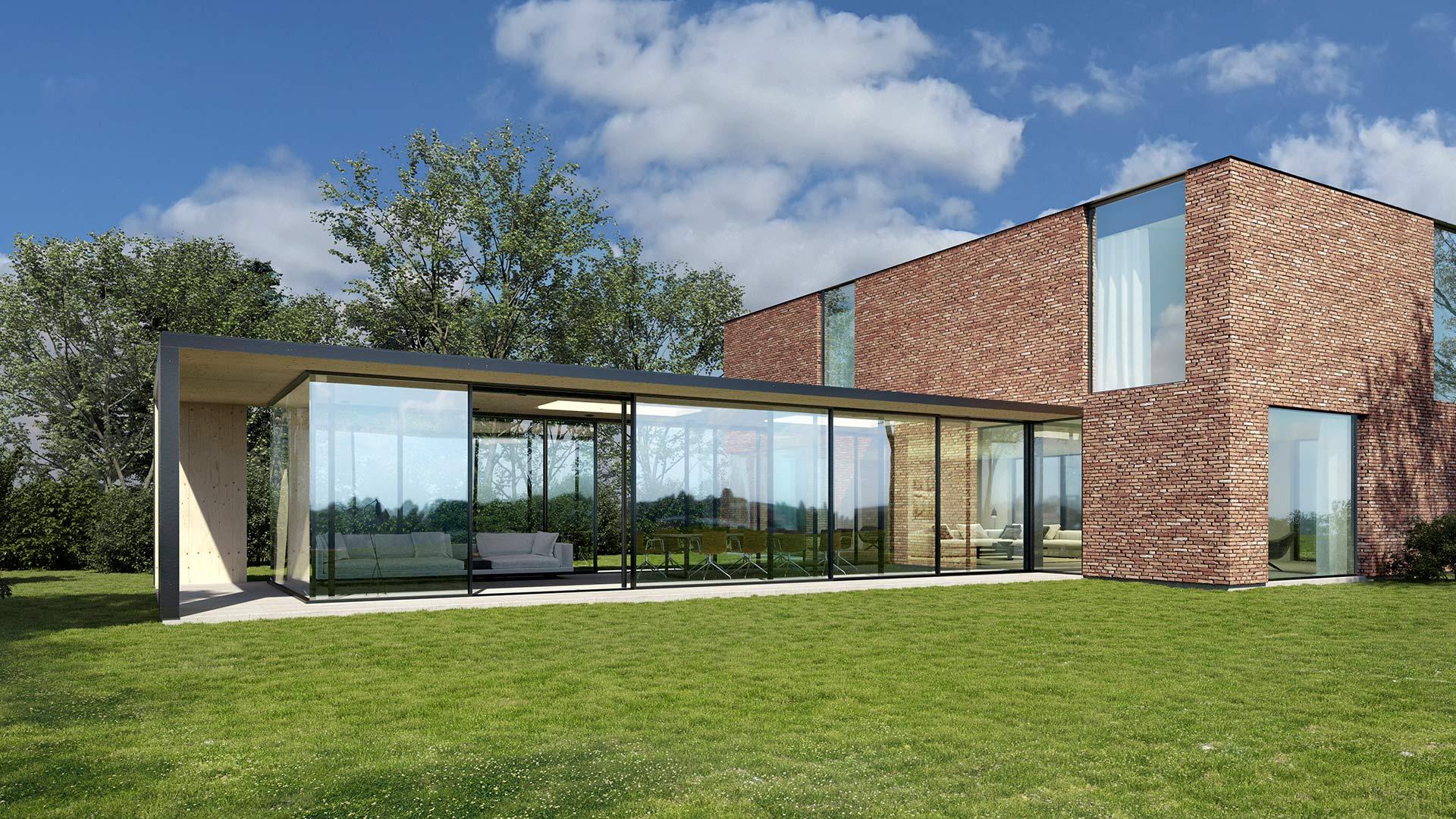 Une image contenant herbe, extérieur, ciel, bâtiment  Description générée automatiquement